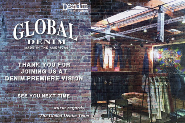 Thank you for visiting us at Denim Premier Vision