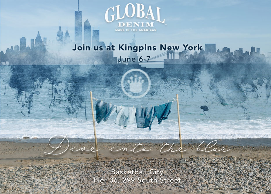 Global Denim to show its Fall / Winter 19-20 Collection at Kingpins New York