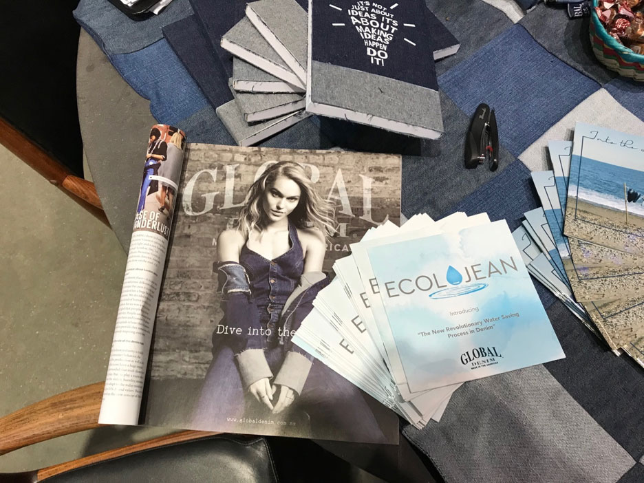 Global Denim Beautiful Ad on Rivet magazine