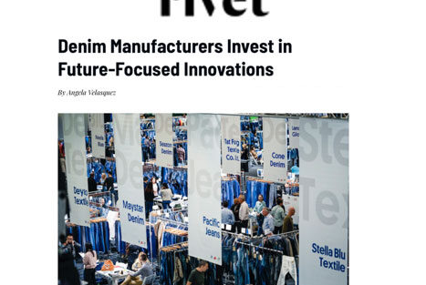 "Global Denim Habla de Sustentabilidad y Evolución en el Nuevo Artículo de Sourcing Journal /Rivet, titulado ""Denim Manufacturers Invest in Future-Focused Innovation"""